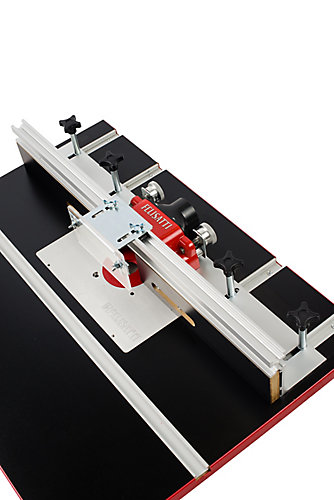 Felisatti premium deluxe router table fence system with dual micro premium deluxe router table fence system with dual micro adjustment greentooth Choice Image