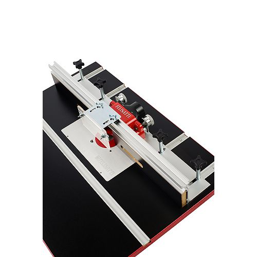 Felisatti Premium Deluxe Router Table Fence System With Dual Micro-Adjustment