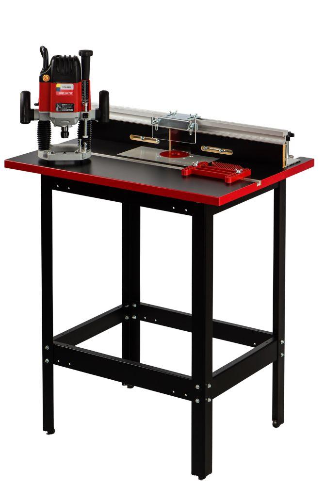 Ensemble de table de toupie haut de gamme Deluxe Felisatti avec toupie RF62/2200