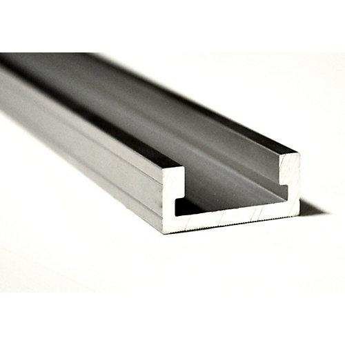 32-inch Extruded Aluminum T-Track