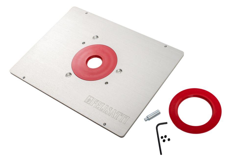 Plaque support en aluminium pour toupie Felisatti RF62/2200