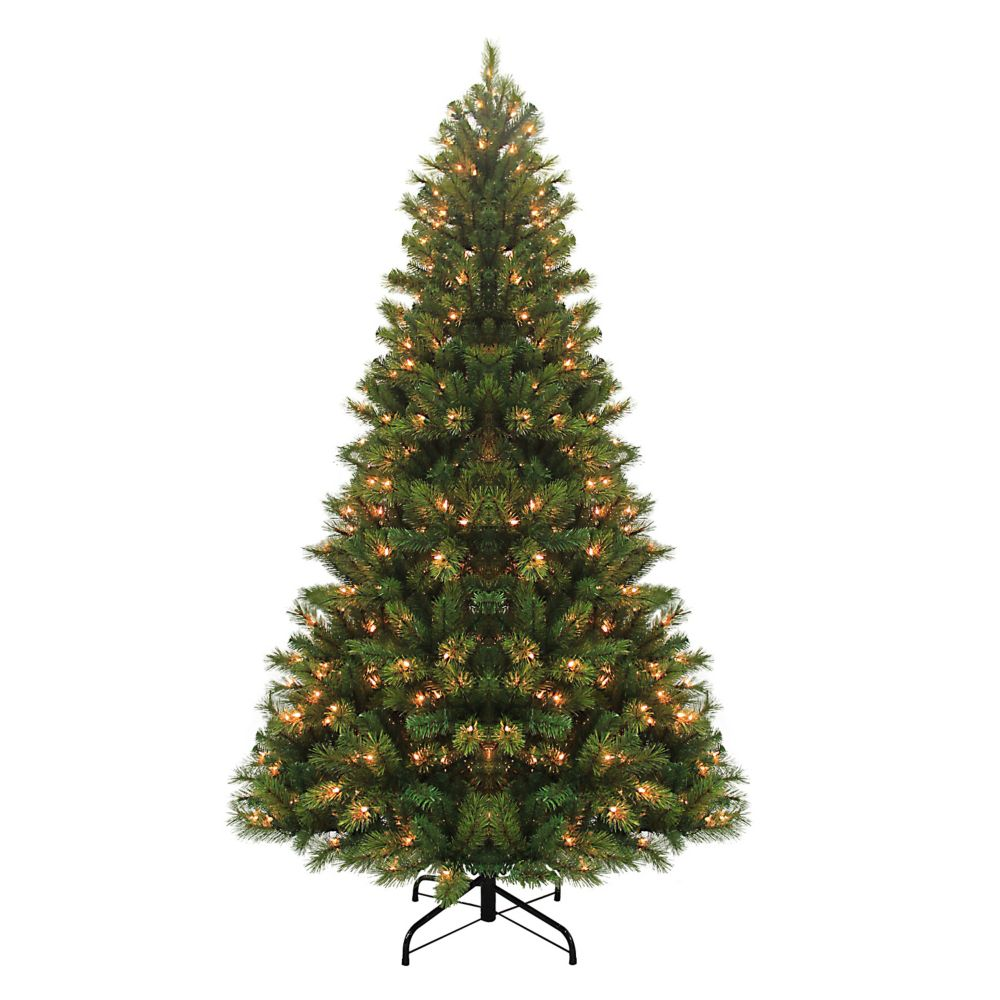 7.5 Feet Ester Scotch Pine Incandescent Tree (3 Function + Twinkle Lights)