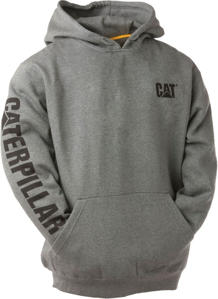 Dk Grey Trademark Banner Hooded Sweatshirt XL