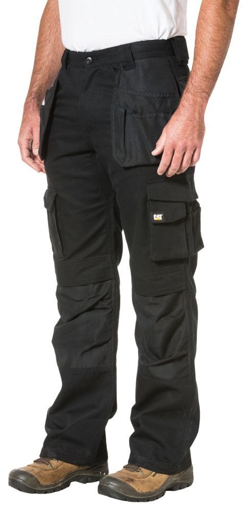 Black Trademark Trouser Inch 32-32