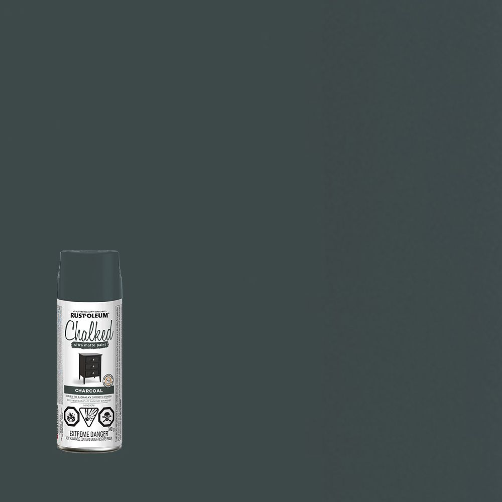 Chalked Paint Charcoal 340G