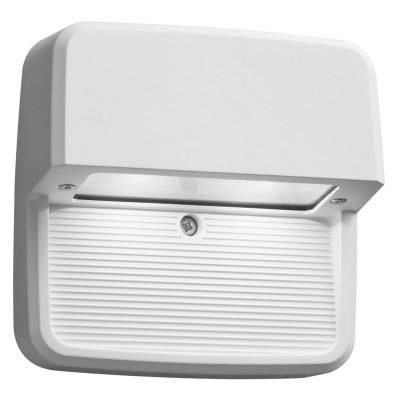 Outdoor / Indoor LED Step Mount Square Light - White