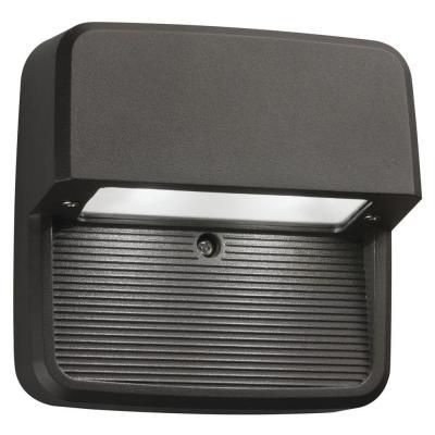 Outdoor / Indoor LED Step Mount Square Light - Bronze