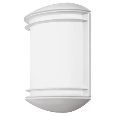 Outdoor LED Wall Mount Decorative Sconce - White