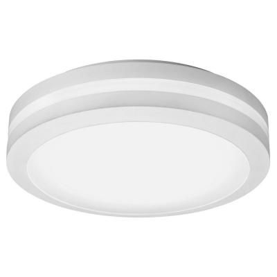 Outdoor LED Ceiling Mounted Decorative Fixture - White