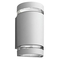 Lithonia Lighting Outdoor LED Wall Mount Cyclinder Downlight - White