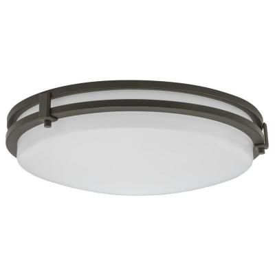 Lithonia Lighting 23W 16-inch Dimmable 6000K LED Flushmount Fixture - ENERGY STAR®
