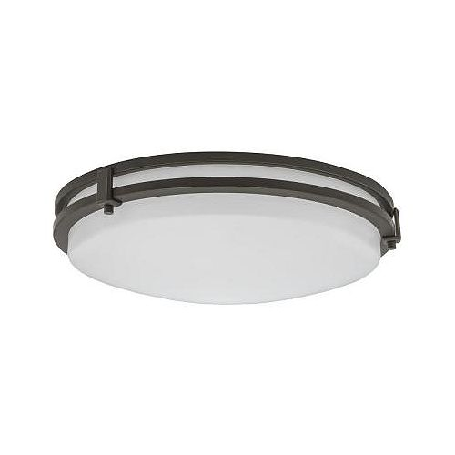 Lithonia Lighting 23W 13-inch Dimmable 4000K LED Flushmount Fixture - ENERGY STAR®