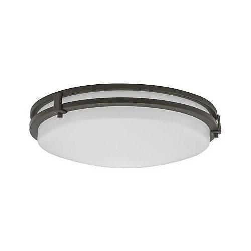 Saturn Antique Bronze Integrated LED Flushmount Ceiling Light - ENERGY STAR®