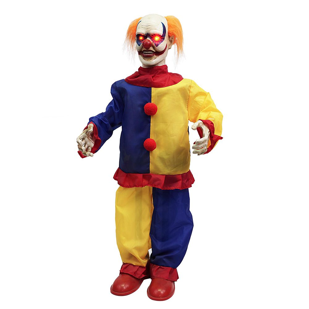 36 Inch  Animated Scary Clown  - Quebec Only