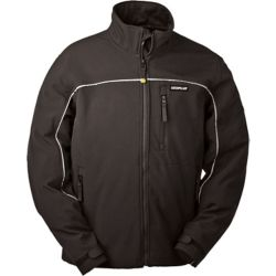Caterpillar (CAT) Black Soft Shell XL