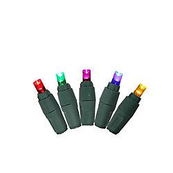 Ecosmart Jeu de 100mini-lumières à DEL Ecosmart, multicolore