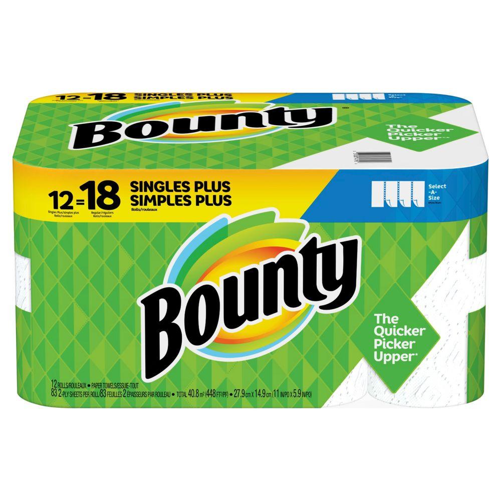 Bounty 12 rouleaux=18 GR SAS