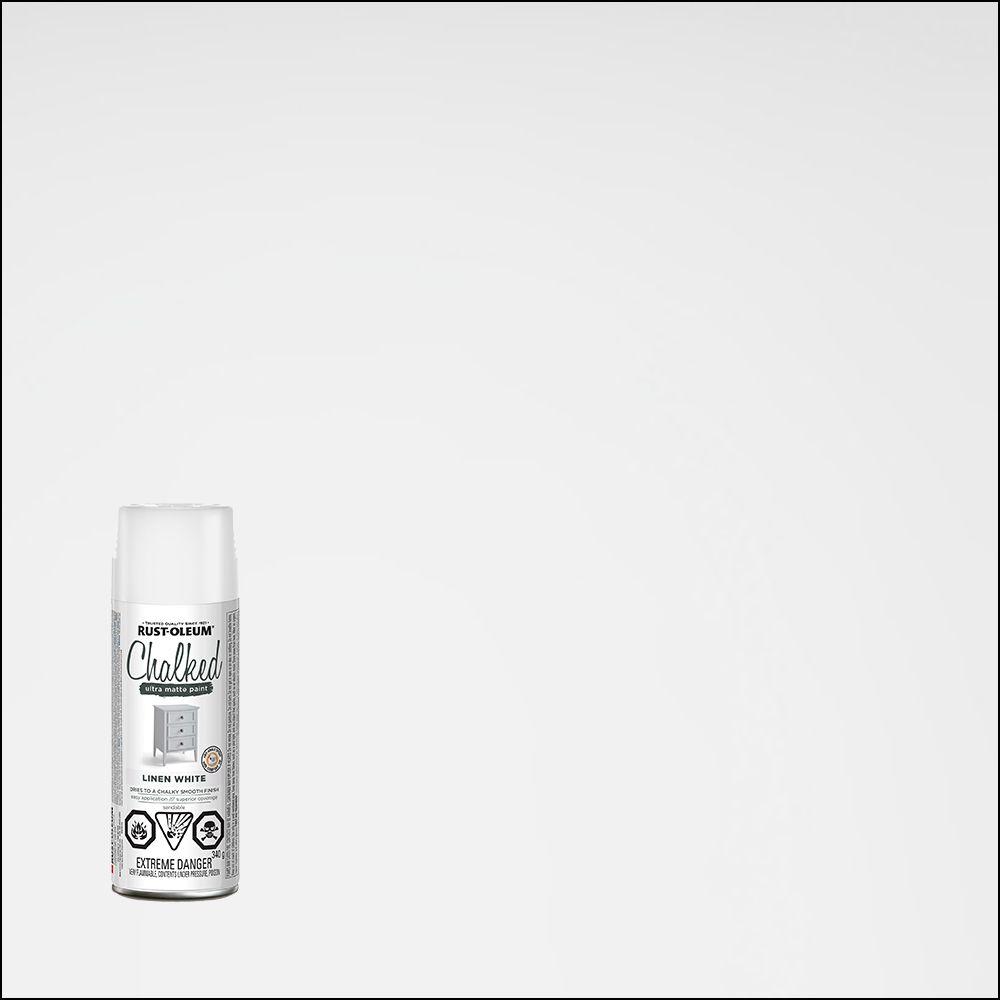 Peint Crayeuse Blanc Lin 340G