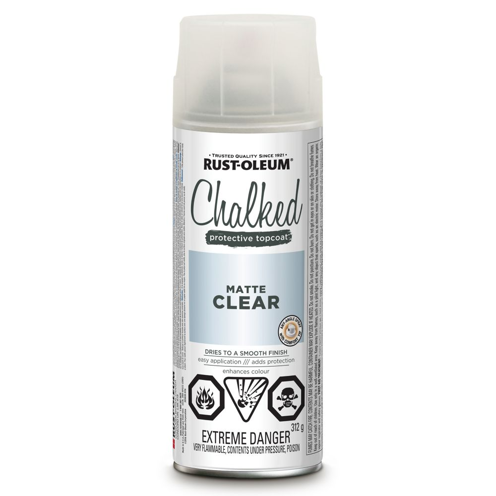 Chalked Paint Matte Clear Topcoat 340G