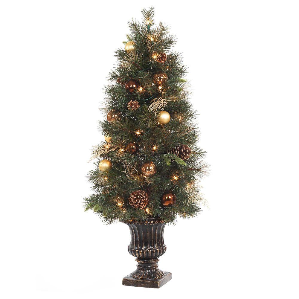 Bronze Copper 4 Feet Porch Tree P/I Incandescent