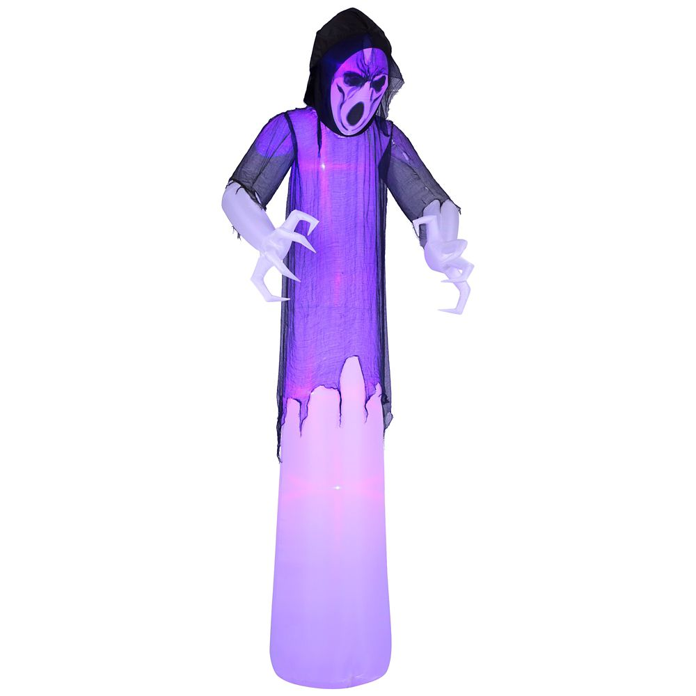 12 Foot Inflatable Lighted Short Circuit Ghost