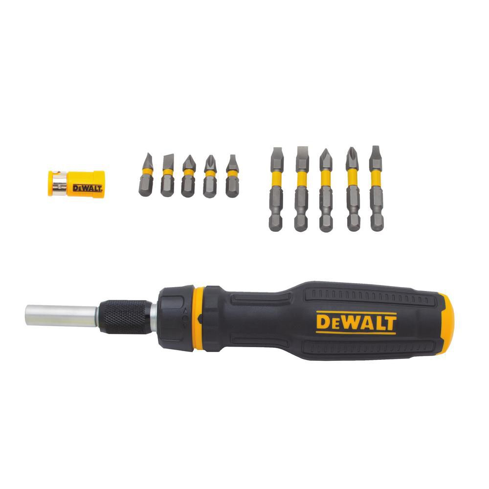 DEWALT Max Fit Telescoping Ratcheting Multi-bit Screwdriver
