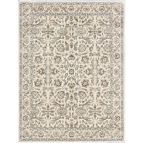 Prescilla Off-White 7 ft. 10-inch x 10 ft. 2-inch Indoor Traditional Rectangular Area Rug