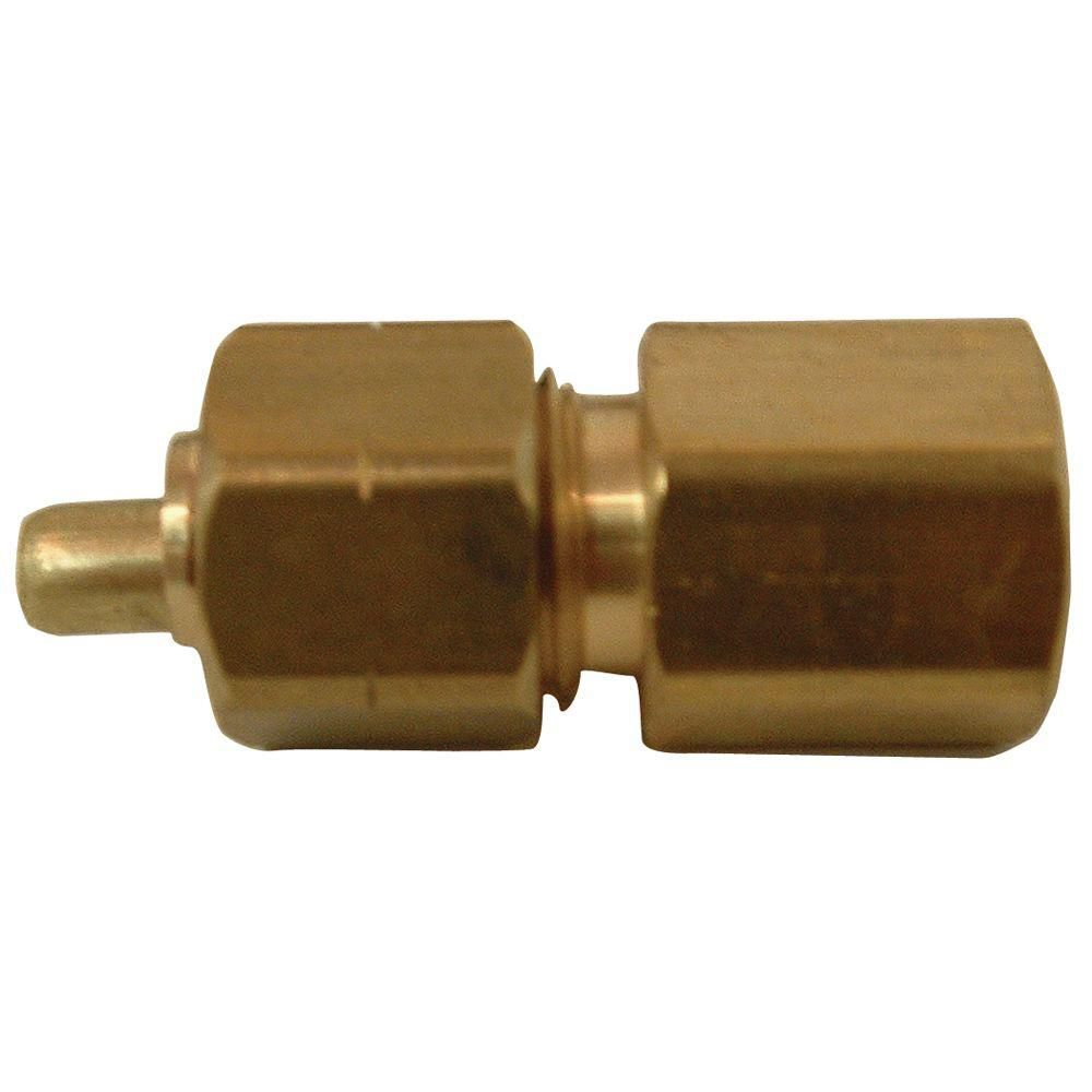 Sioux Chief Adapter 3/8 inch Outside Diameter Ander-Lign X 1/4 inch Female Fitting No Lead 1/Bg