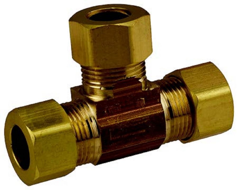 Sioux Chief 3/8 inch Compression Tee Lead Free Brass