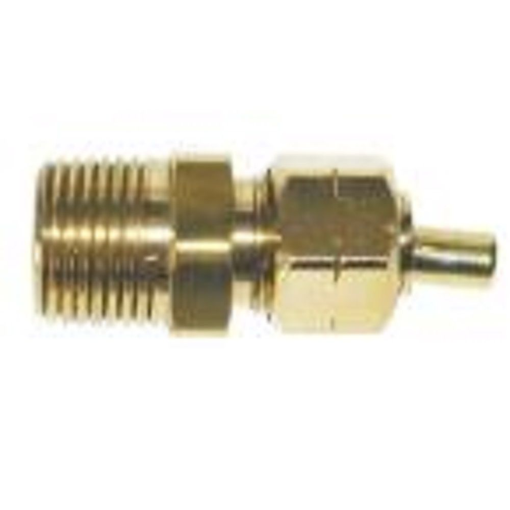 Sioux Chief 1/4 inch x 1/4 inch Brass Compression x MIP Adapter with Insert