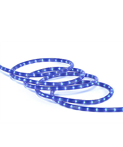 Home accents holiday 18 ft rope light blue the home depot canada aloadofball Choice Image