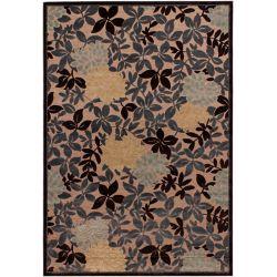 ECARPETGALLERY Carpette d'intérieur, 5 pi 3 po x 73 pi 6 po, style traditionnel, rectangulaire, brun Dartmouth