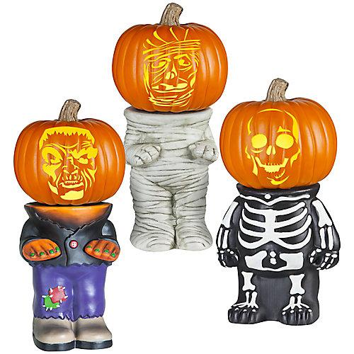 Pumpkin Stand Halloween Decoration (Assorted Styles)