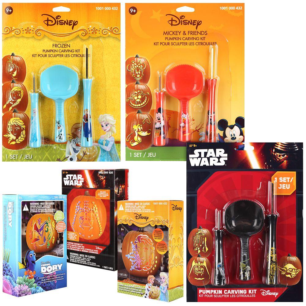 Activités de citrouilles-Disney/Hasbro/Marvel/Peanuts/StarWars-17 Styles assortis