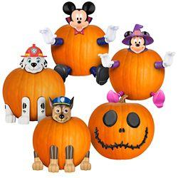 Licensed Pumpkin Push-In Halloween Jack-o-Lantern Decorating Kit (Assorted Styles)