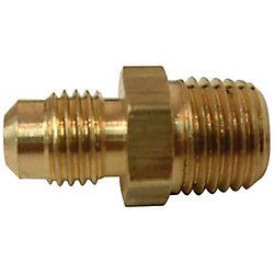 Sioux Chief 3/8 inch x 1/4 inch Lead-Free Brass Flare x MIP Half Union