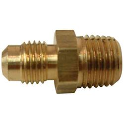 Sioux Chief 3/8 inch x 1/4 inch Lead-Free Brass Flare x MIP Half Union