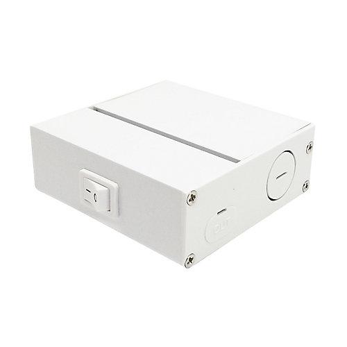 Boîte de jonction pour rondelle LED 120V