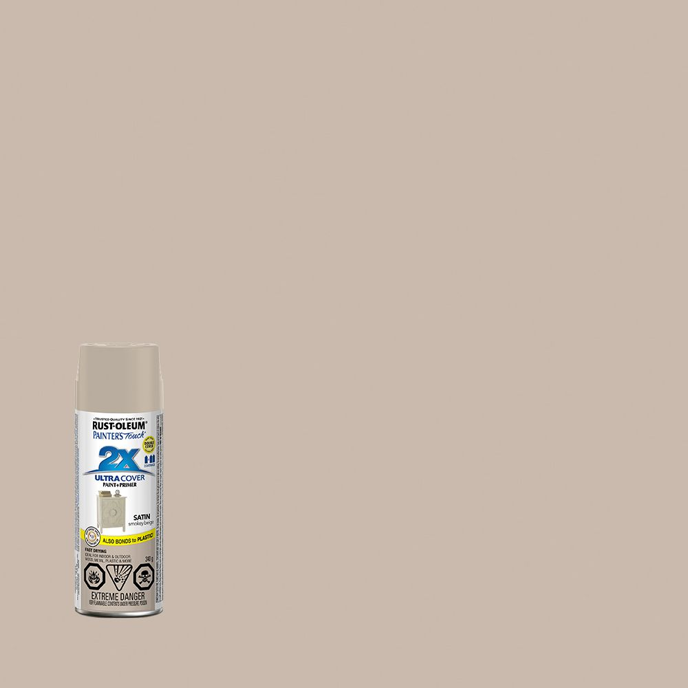 Painter's Touch 2X Satiné Beige Fumée 340G