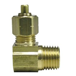 Sioux Chief Adapter 1/2 inch Outside Diameter Ander-Lign X 3/8 inch Male Fitting No Lead 1/Bg