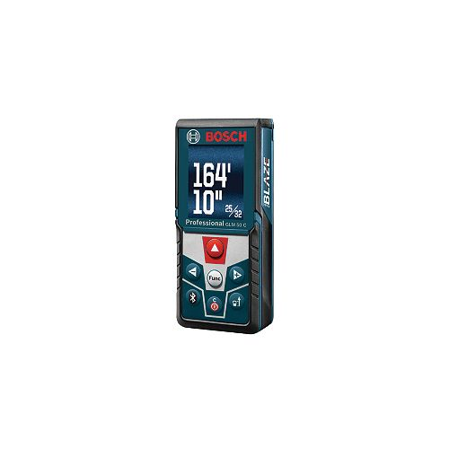 Bosch 165 ft. Laser Measure with Bluetooth and Full-Colour Display