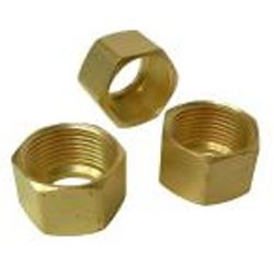 Sioux Chief 1/4 inch Brass Compression Nut (3-Pack)
