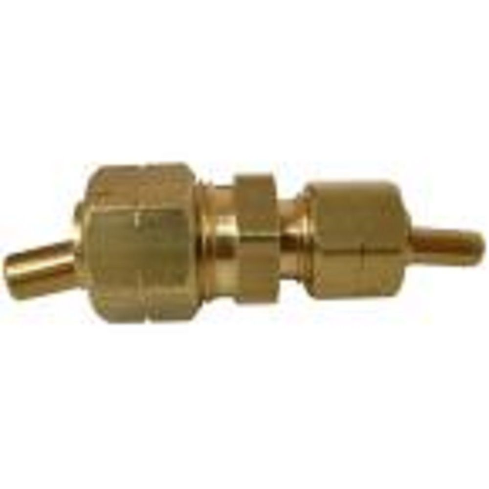 Sioux Chief 3/8 inch x 1/4 inch Lead-Free Brass Compression x Compression Union with Insert