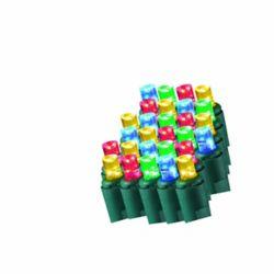 Home Accents Holiday Filet de 50lumières à DEL clignotantes multicolores