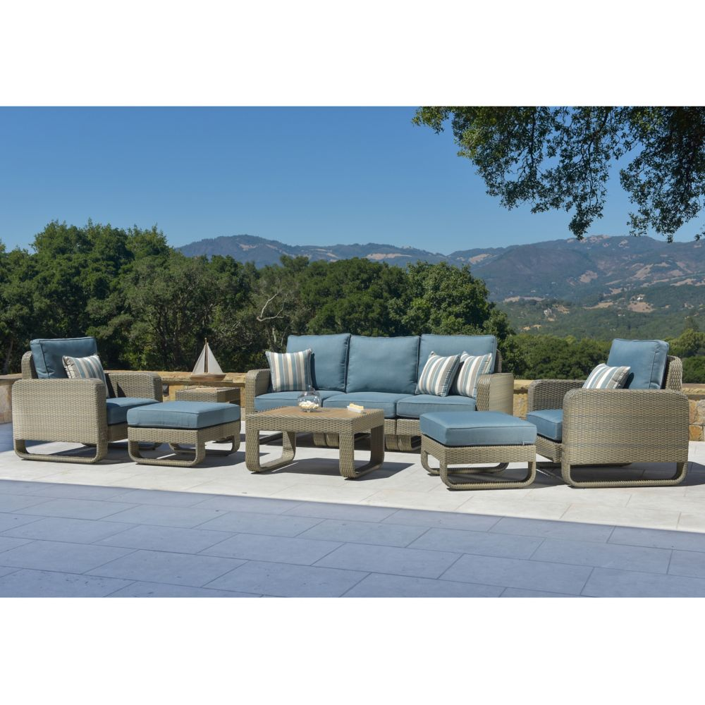 Ashena 9pc Deep Seating Set