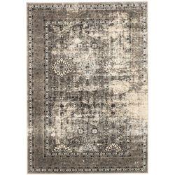 ECARPETGALLERY Carpette, 5 pi 3 po x 7 pi 3 po, rectangulaire, gris Frost