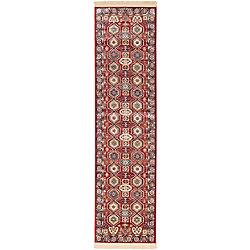ECARPETGALLERY Shiravan Red 2 ft. 6-inch x 9 ft. 10-inch Area Rug