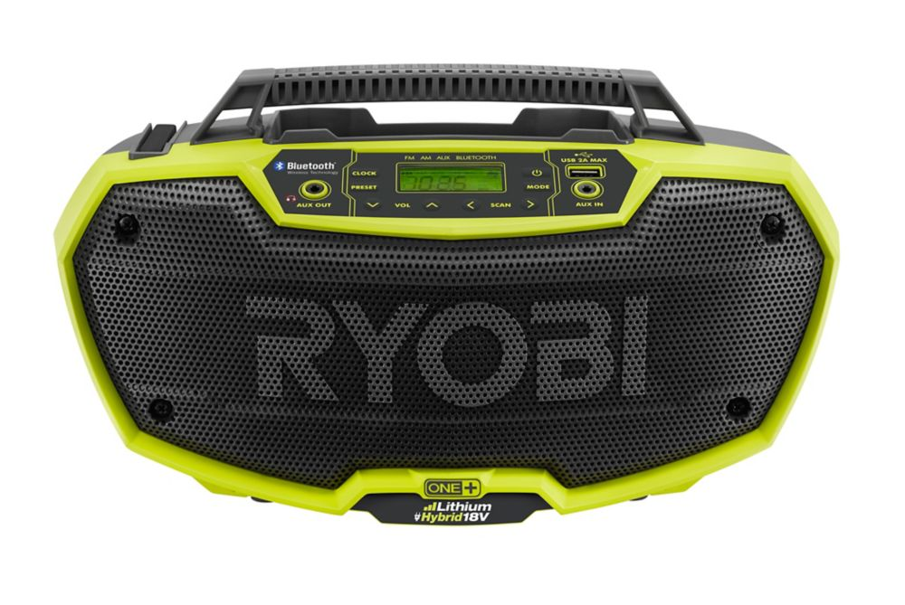 18V ONE+� Dual Power Stereo With Bluetooth Wireless Technology