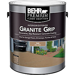 Behr Premium Granite Grip intérieur/extérieur - Tan, 3,79 L