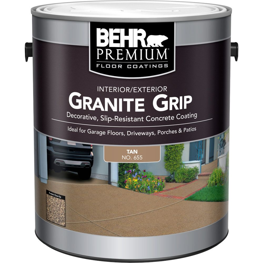 Behr Premium Interior/Exterior Granite Grip - Tan, 3.79 L